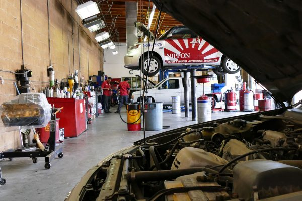 The shop features all the tools needed to fully service your vehicle.