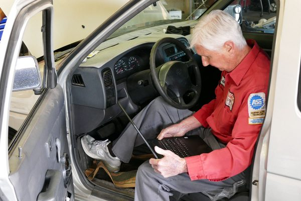Our career technicians go by the book so your vehicle will, too.
