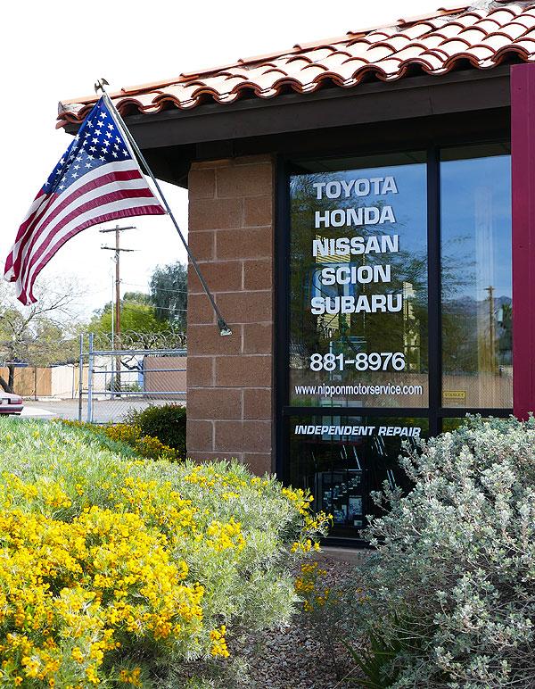 Nippon Motor Service: service for Toyota, Honda, Nissan, Scion, and Subaru cars and trucks